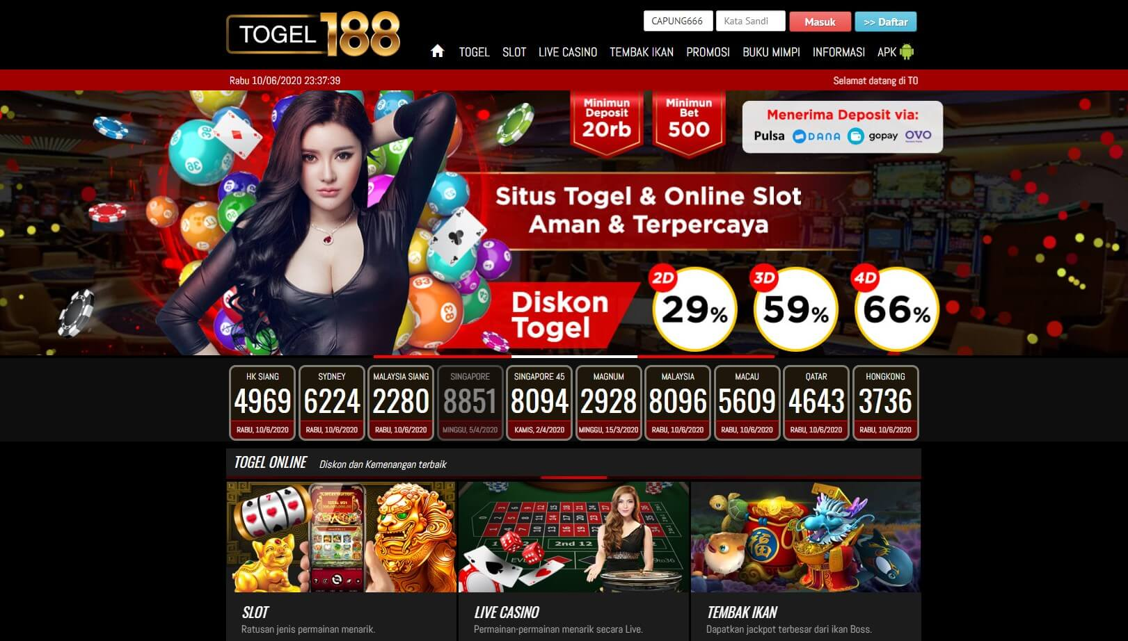 Link Alternatif Togel188